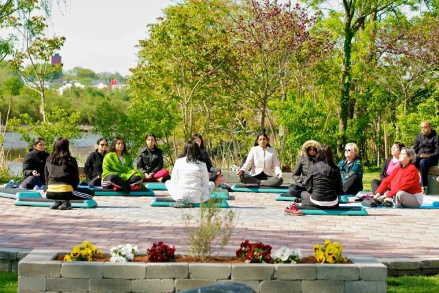 Garden Design With Inauguration Of Meditation Garden In Secaucus Â« Art Of  Living With Vegetable