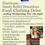 IAHV Hurricane Sandy Relief