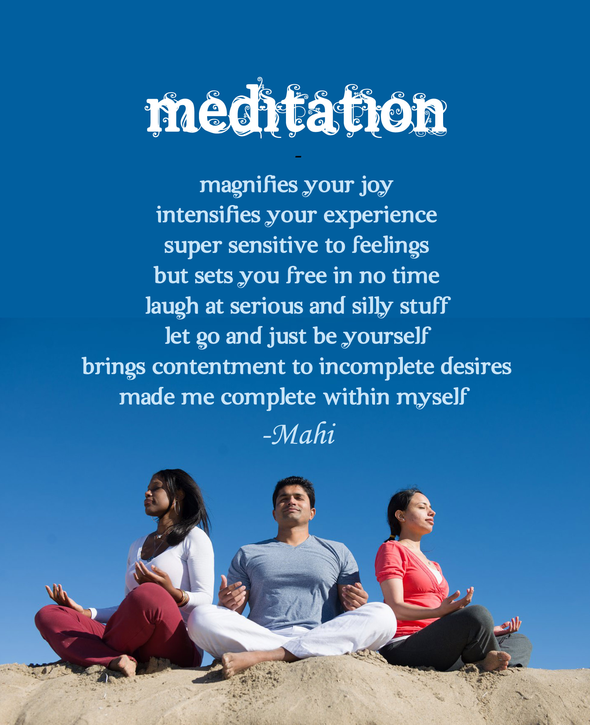 Good MeditationPoem